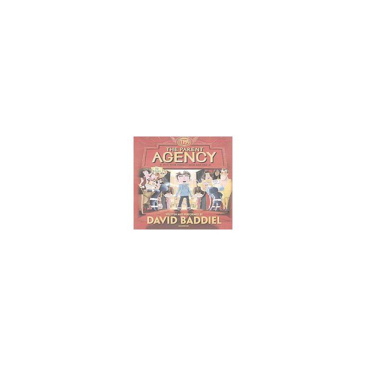 Parent Agency : Library Edition (Unabridged) (CD/Spoken Word) (David Baddiel)
