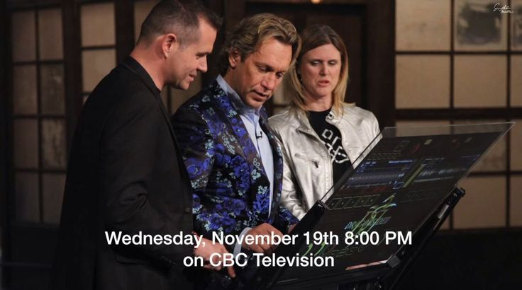 Remember to catch us on #DragonsDen THIS wed @ 8PM on CBC or online! We'll post all links on our Facebook!