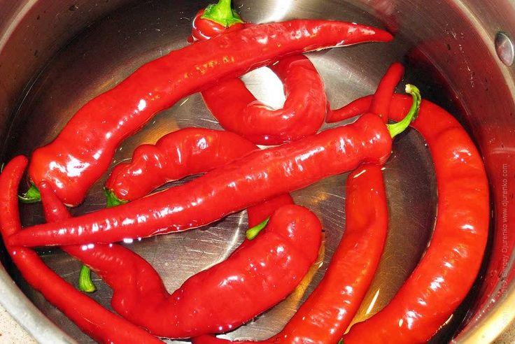 мариновать острый перец рецепт с фото