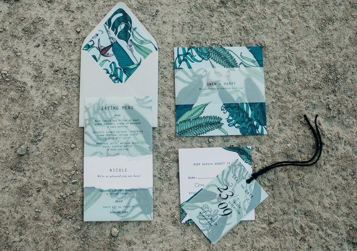 Beautiful wedding stationery for your wedding. Check it out the ultimate wedding stationery checklist here: http://www.forevaevents.com.au/wedding-stationery-checklist/