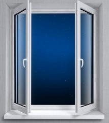 Конструкции окон при их установке в квартире, доме. Какая лучше? Глухое окно имеет только три преимущества перед открывающимся:  1). При одинаковом оконном проеме площадь светопропускания у него больше, освещенность помещения получается выше. 2). Воздухонепроницаемость глухого окна значительно выше, чем у открывающегося. 3). Долговечность глухого окна тоже выше: глухому окну не нужны регулировки -установил и забыл. Но в комнатах квартиры обязательно должно быть хотя бы одно открывающееся…