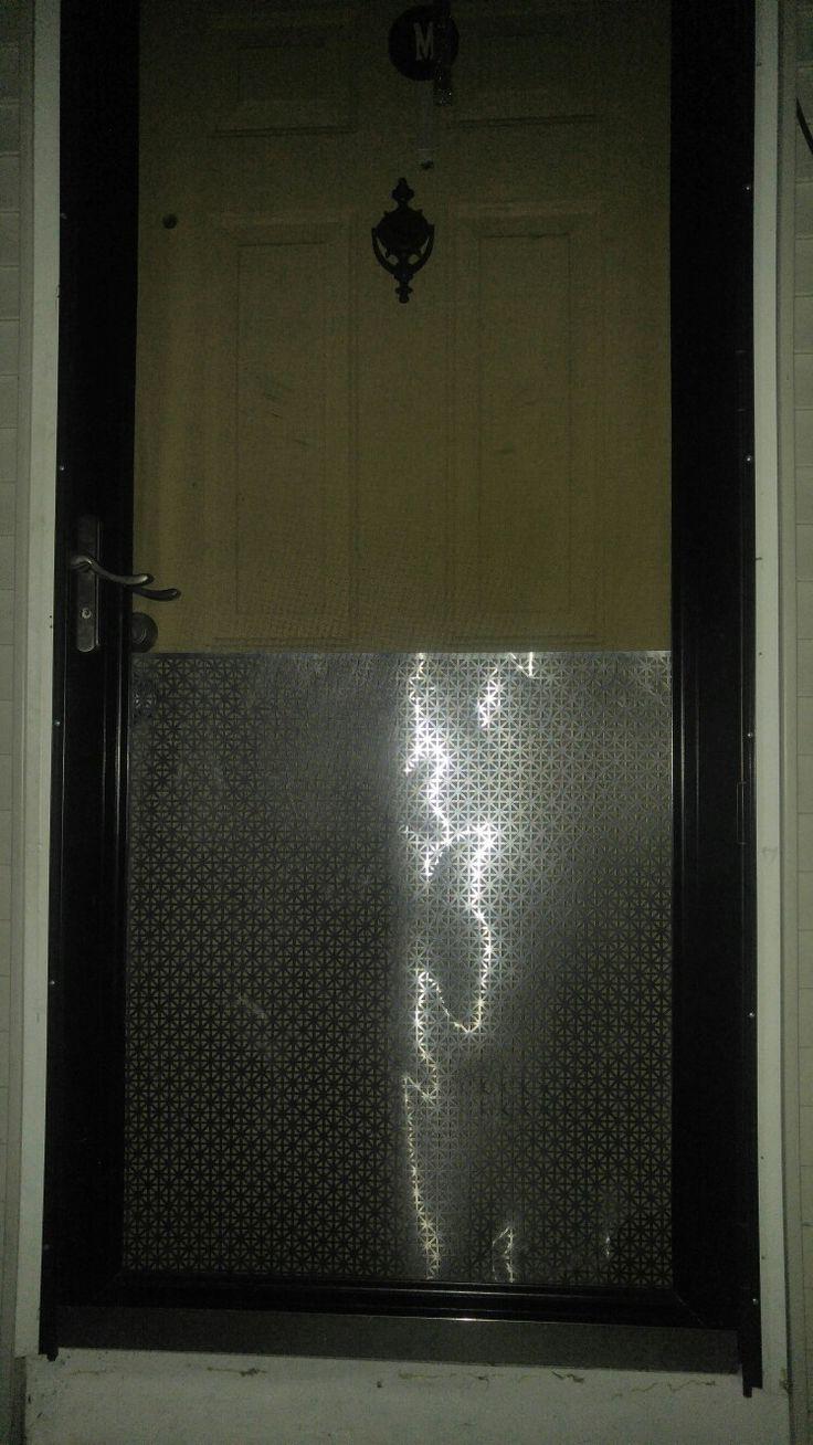 Diy screen door protector