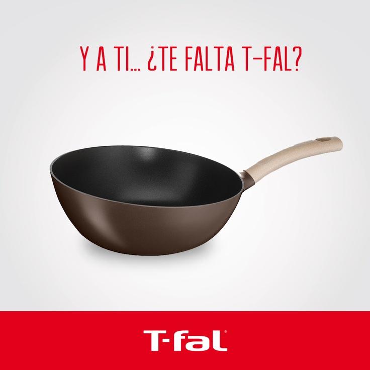 25 best images about ollas y sartenes t fal en pinterest for Cocinar wok sin aceite
