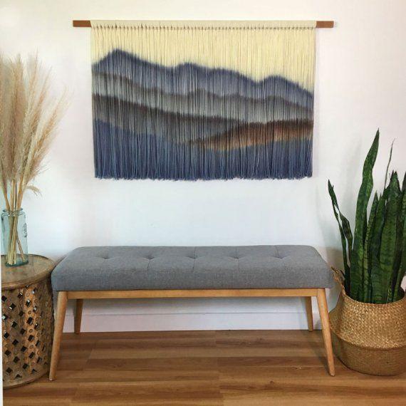 تابلو و تزیینات دیواری چوبی و فلزی با طرح و نماد کوهستان Stylish Wall Art Hanging Wall Decor Wall Art Designs