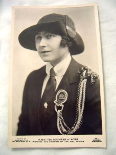 Queen Mother in her Guiding Uniform