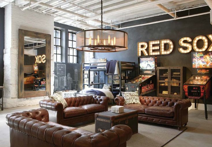 Restoration Hardware Kids' area
