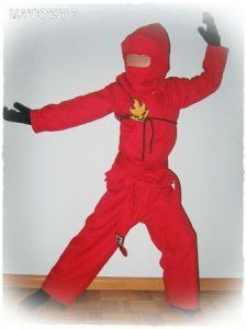 Tuto du déguisement Ninjago