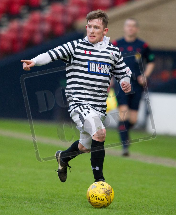 Queen's Park's Joe Bradley on the ball during the SPFL League Two game between Queen's Park and East Fife.