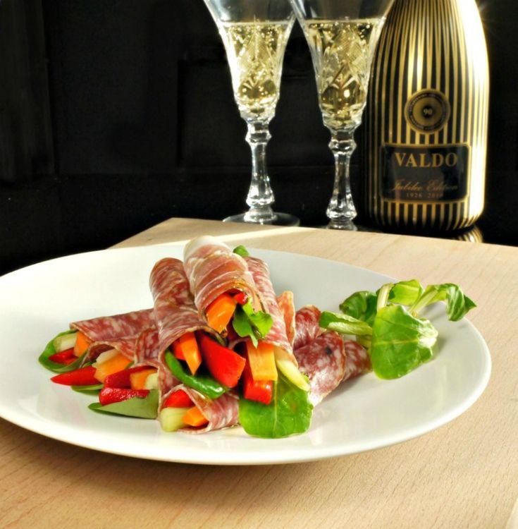 αλλαντικά - λαχανικά: γρήγορα ορεκτικά χωρίς ψωμί - www.pandespani.com