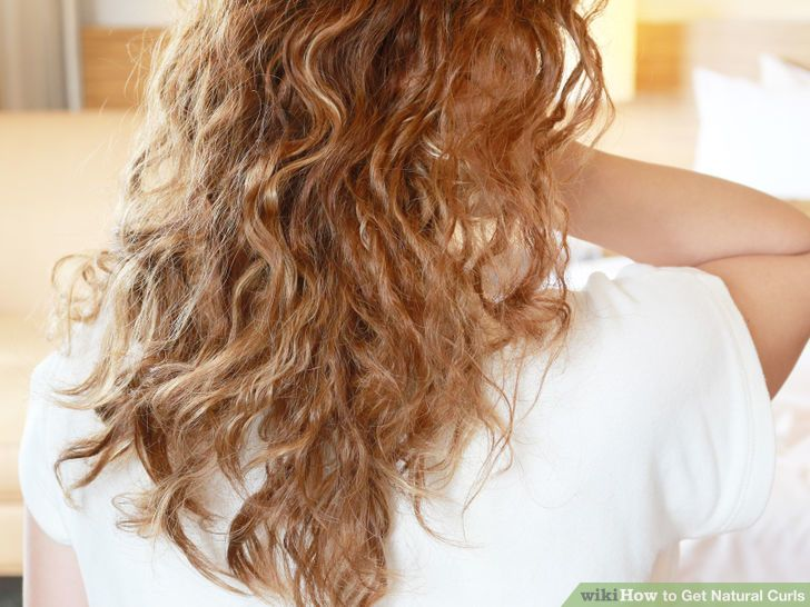 5 Ways to Get Natural Curls - wikiHow
