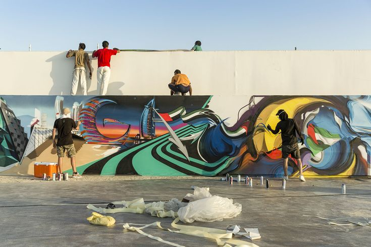 Watch the Ironlak Family travel to Dubai to join 100+ artists in an ambitious attempt to set a new Guinness World Record for the longest graffiti scroll.