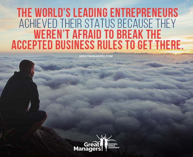 The world's leading entrepreneurs achieved their status because they weren't afraid to break the accepted business rules to get there. Read the article on our website! https://www.greatmanagers.com.au/10-employee-engagement-tips/ #strategicleadership #entrepreneurship #success #leadership #mindset #mentorship #alwayslearning