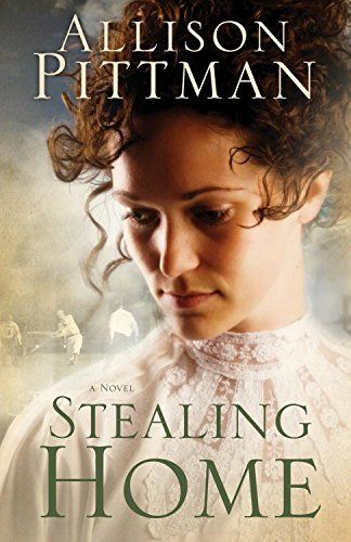 Stealing Home by Allison K Pittman // I love AKP but have stayed away from this book b/c of the cover (trite) and the premise--a baseball player in 1904. Seemed like a cheesy inspirational romance. It's NOT! The story is told from 4 differnet narrators--a young lady, a deaf man, a young black boy and famous baseball player. So interesting. Not typical.