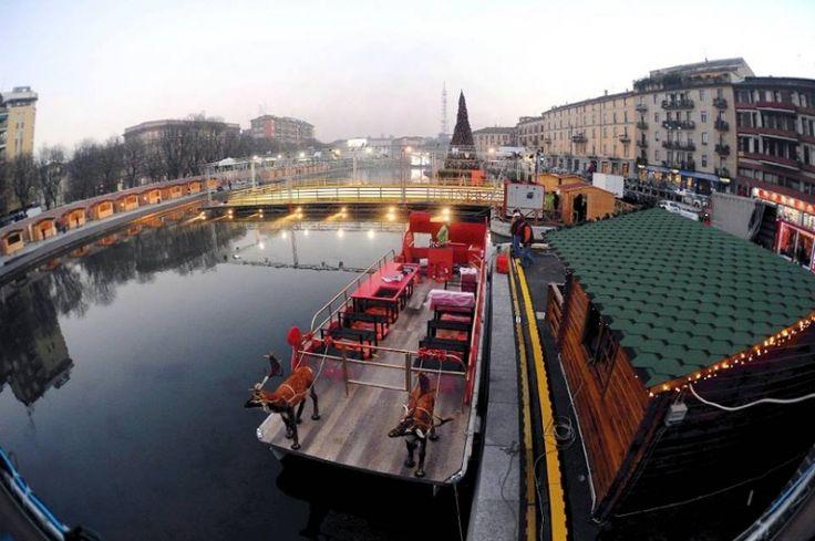 Milano, Natale sui Navigli con il Darsena Christmas Village