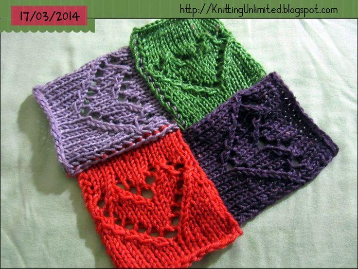 Entrelac Knitting Dishcloth Pattern : 33 best images about Entrelac Knitting Patterns on Pinterest