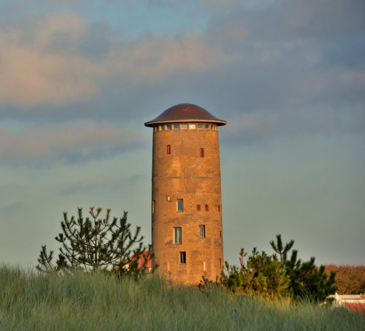 | Zeeland op foto - watertoren Domburg