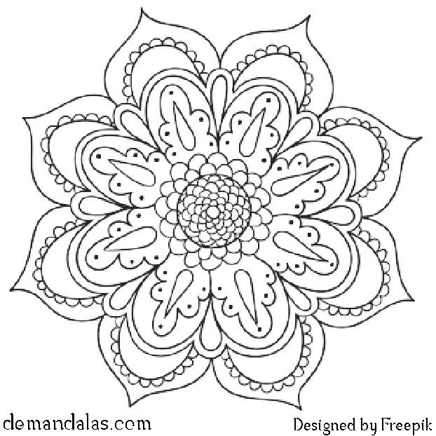 Mandala Para Imprimir En Pdf En 2020 Mandalas Mandala Para