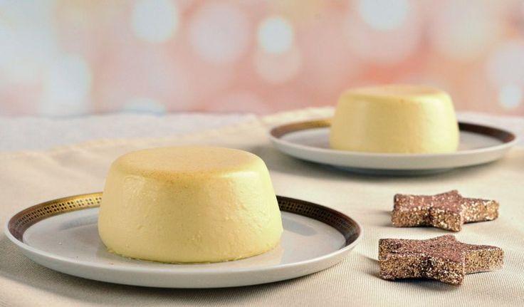 Tojáslikőrös panna cotta recept Karácsonyra vagy Szilveszterre  Eggnog panna cotta recipe