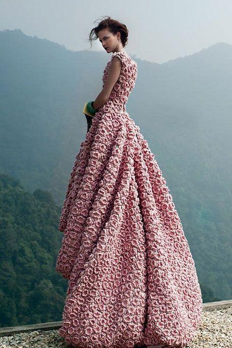 Wedding Worthy - Crocheted Flowers