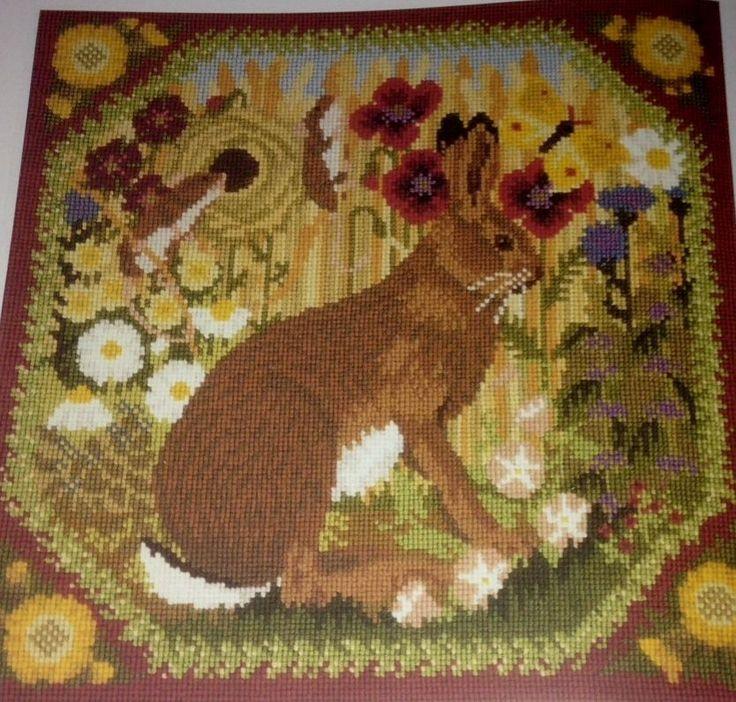 Details about ELIZABETH BRADLEY tapestry needlepoint chart ...