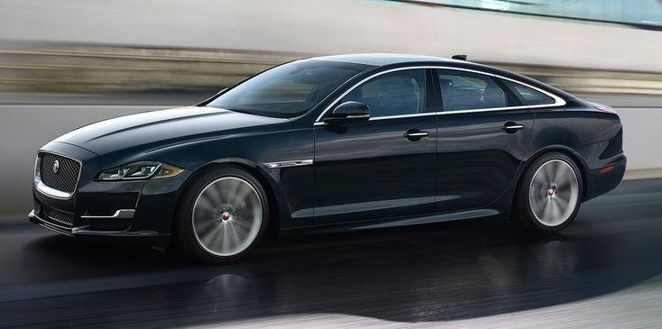 Jaguar Xj Luxuslimousine Auf Dem Weg Nach Draussen Die 2020 Durch Ein Elektroauto Ersetzt Werden Soll Auf Dem Die Jaguar Xj Jaguar Land Rover Jaguar Auto
