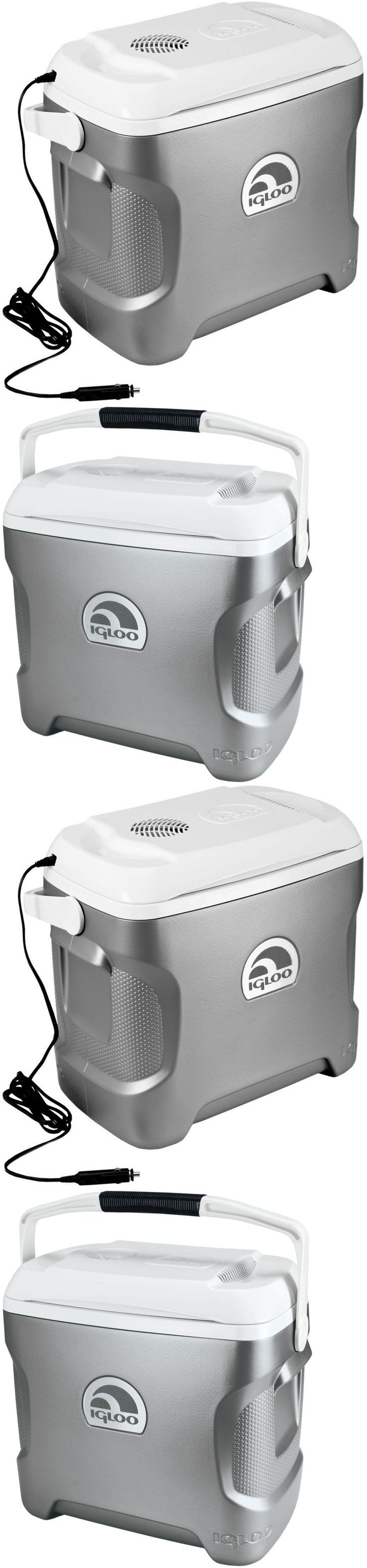 12-Volt Portable Appliances: Grocery Cooler Portable Fridge For Car Truck Camping Travel Igloo Iceless 12V -> BUY IT NOW ONLY: $104.95 on eBay!