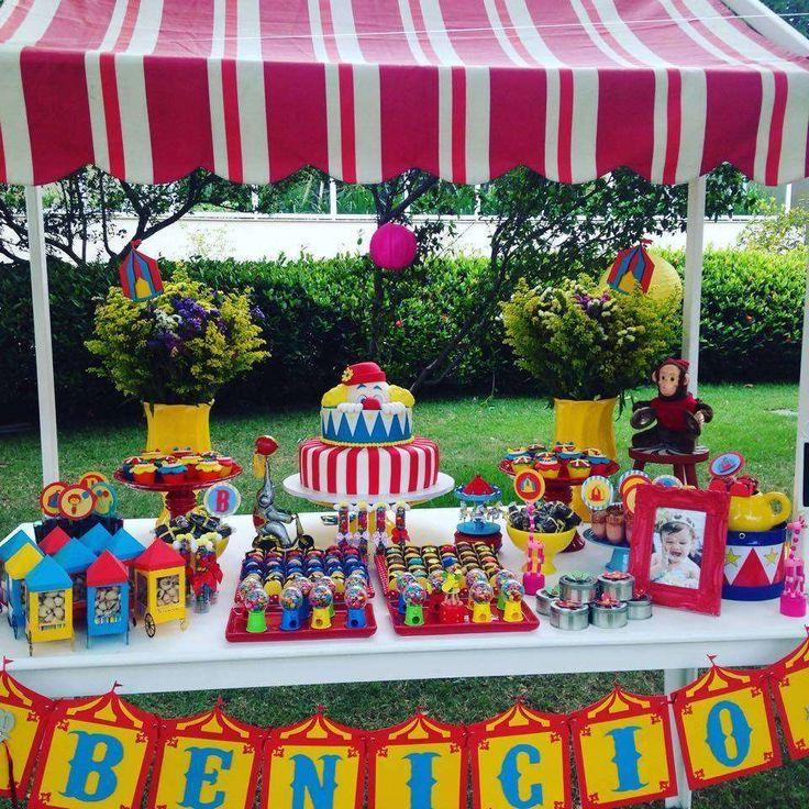Circo do Benicio Birthday Party Ideas | Photo 5 of 10 | Catch My Party