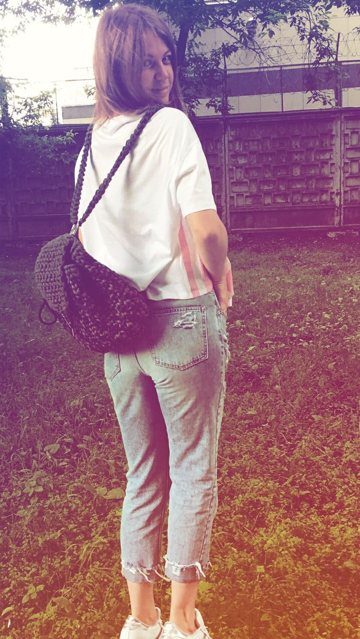 #рюкзак #трикотажнаяпряжа #камуфляж камуфляжный рюкзак из трикотажной пряжи