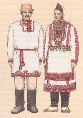 Национальный костюм Азербайджана