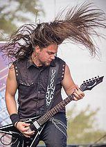 Alia Tempora band on summer festival Made of Metal.  #aliatempora #fans #summer #festival #stage #onstage #live #femalefronted #female #rock #metal #music #musicians #czech #guitarist