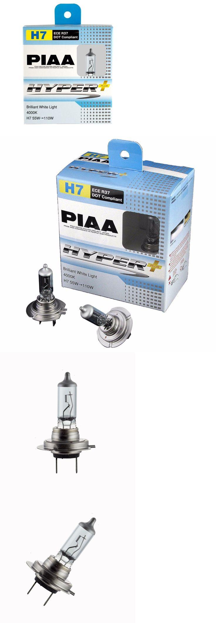 Power Sports ATVs UTVs: Piaa H7 Hyper Plus 4000K Xtra 55W=110W Brilliant White Light Bulbs Twin Pack BUY IT NOW ONLY: $44.99