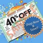 Hobby Lobby – 40% off! | WooHooYeah