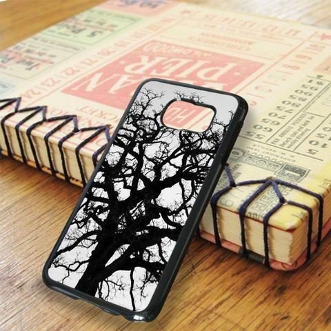 Black Tree Samsung Galaxy S6 Edge Case