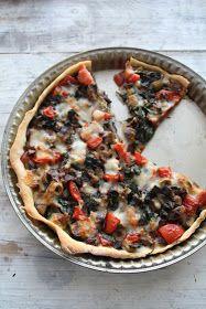 Mat på Bordet: Shabby chic pizzapai med grønnsaker