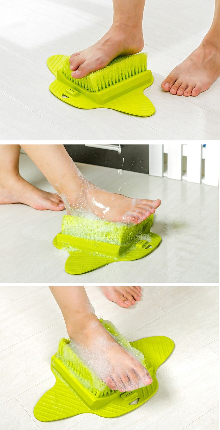 Dead Skin Remover Fuß Pinsel Scrubber Füße Massage Cleaner Callus Peeling Tool Sucker Dusche Spa
