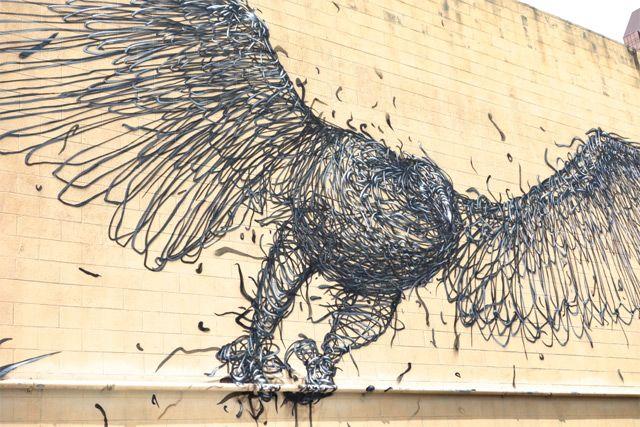 Mural Art by DALeast and Faith47