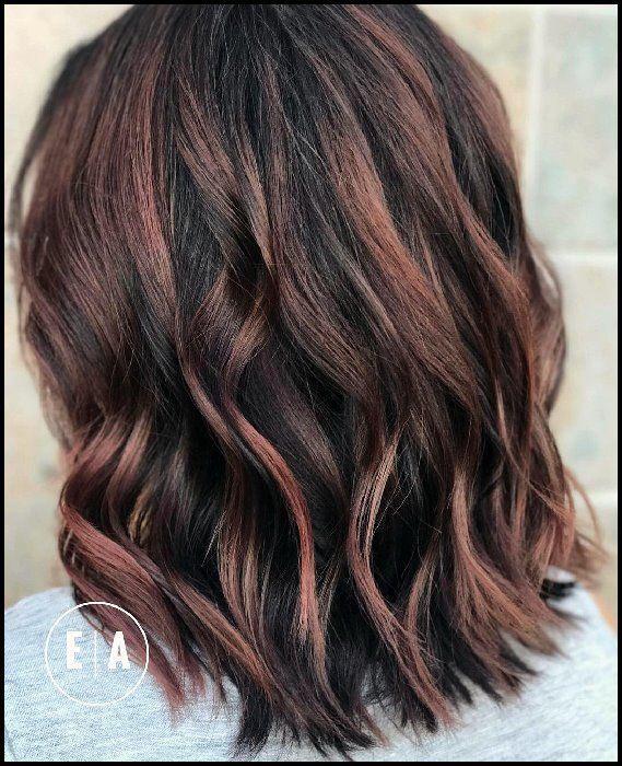 10 Lob Haircut Ideen – Edgy Cuts & Heiße Neue Farben – BobFrisuren   – social penguin