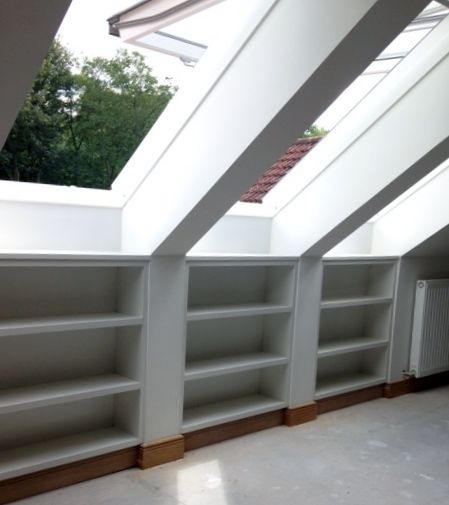 skylights, loft conversion, bespoke storage, velux windows