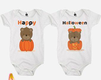 Halloween gemelli Body / Tutine / Tutine / t-shirts