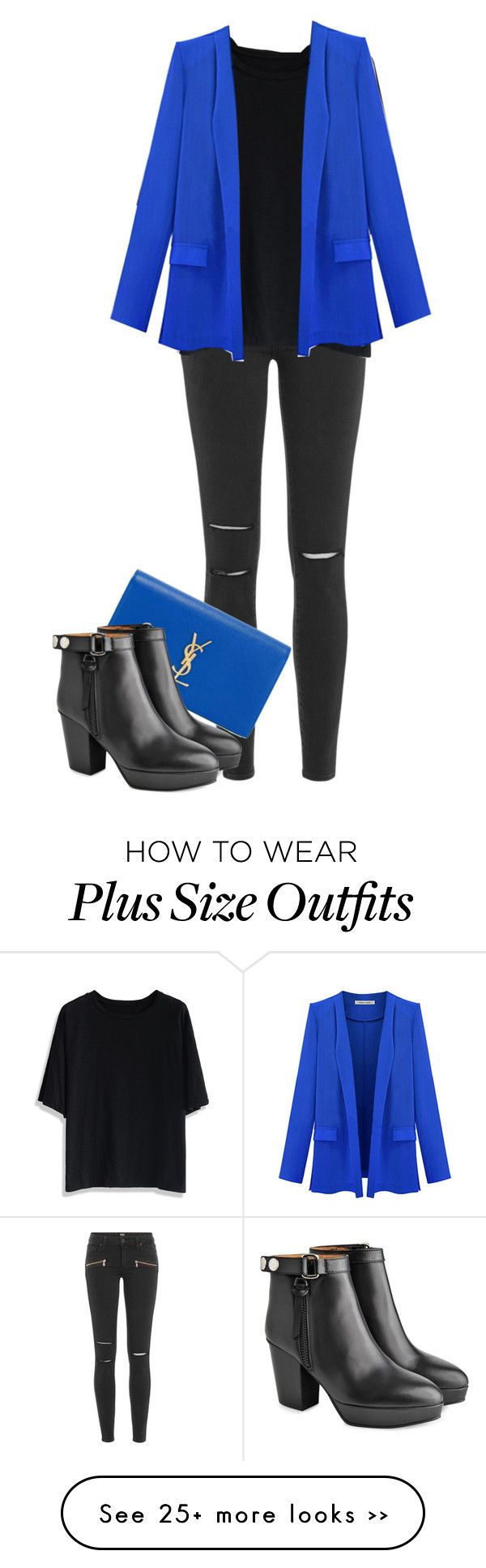 """ROCK IN ROYAL"" by ele88na on Polyvore featuring Paige Denim, Chicwish, Yves Saint Laurent and Acne Studios"