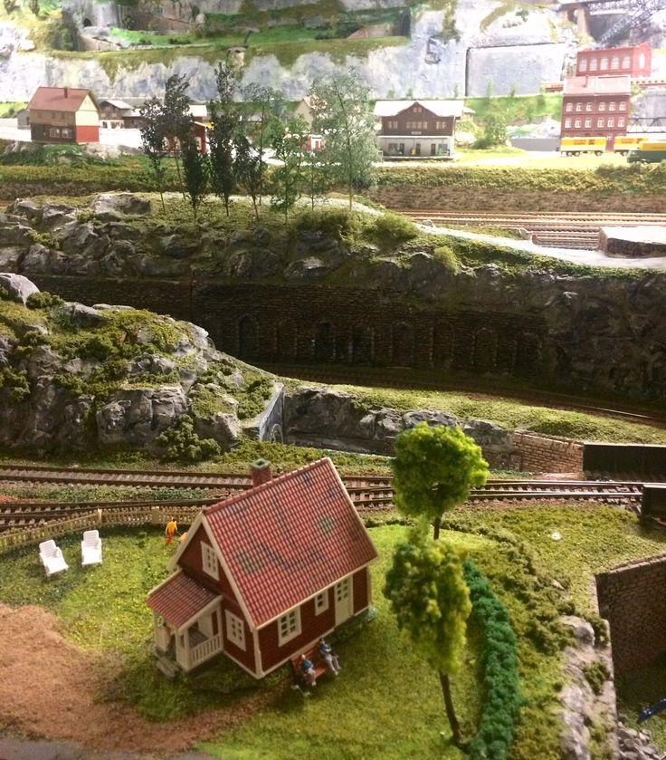 Рождественский музей с поездами в Норвегии ❄️☃️🎄🚂