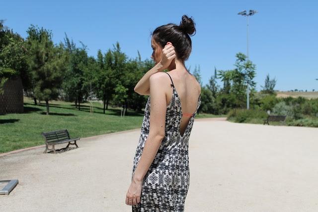 look con mono zara inditex ethnic outfit summer doradoymás jumpsuit
