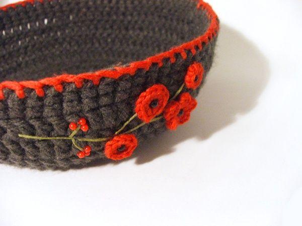 crochet  bowl / horgolt tál http://habcsi.blogspot.hu/