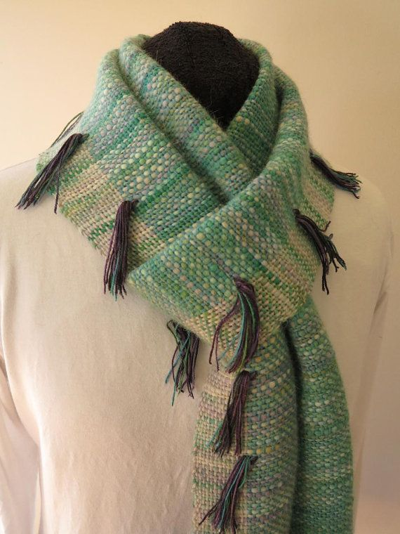 Check out this item in my Etsy shop https://www.etsy.com/au/listing/470501982/aqua-tassel-fine-alpaca-scarf