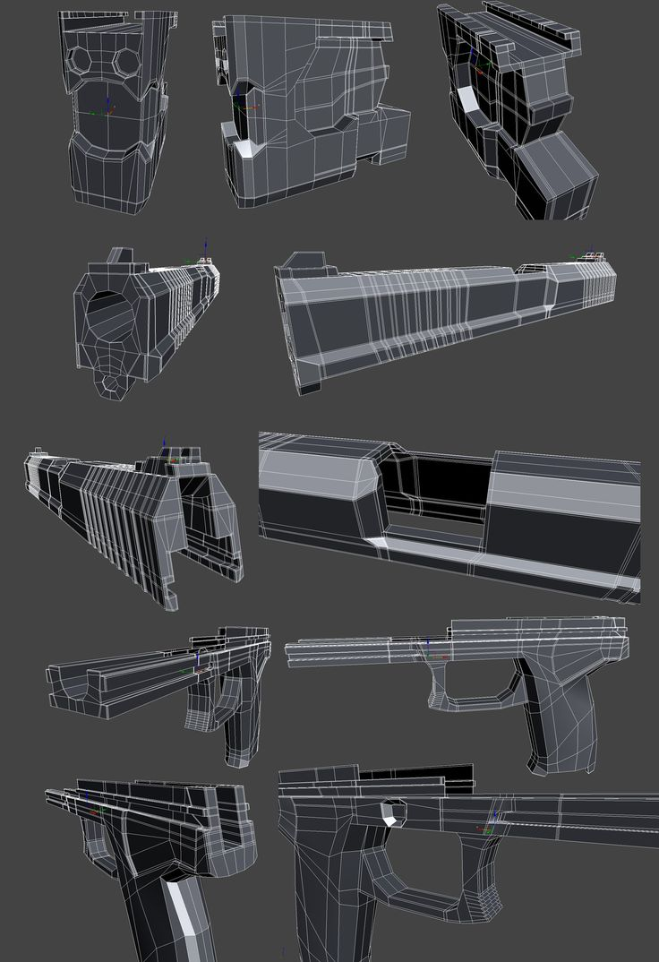 FAQ: How u model dem shapes? Hands-on mini-tuts for mechanical sub-d AKA ADD MORE GEO - Page 4 - Polycount Forum