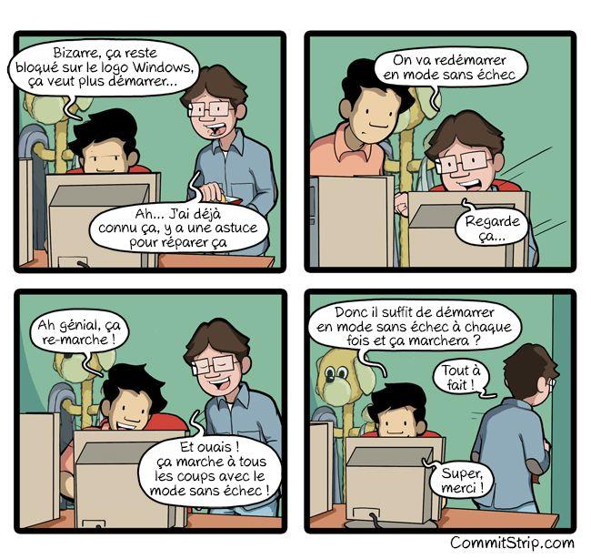 Lenfance du codeur : le mode sans échec