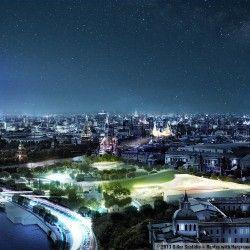 Pracownia Diller Scofidio + Renfro przy współpracy z Hargreaves Associates, Citymakers oraz międzynarodową grupą specjalistów stworzyła niesamowity projekt Zaryadye Parku w Moskwie. Ma on być wyrazem rosyjskiej przemiany i obrazem nowoczesnego państwa, które dba o wygląd przestrzeni publicznych i dopuszcza do nich nowoczesność. Więcej: http://sztuka-krajobrazu.pl/704/slajdy/przestrzen-publiczna-ndash-park-w-moskwie