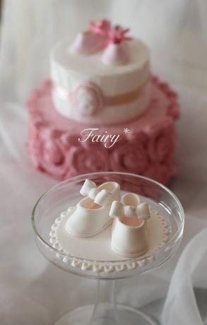 クレイで作るベビーシューズ、ファーストシューズは何色でしたか? | 大阪・河内長野「可愛いクレイケーキとおうちde手作り和菓子」Atelier Fairy*の手仕事綴り…
