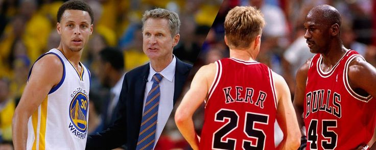 NBA -- Steve Kerr on the 2015-16 Golden State Warriors vs. 1995-96 Chicago Bulls