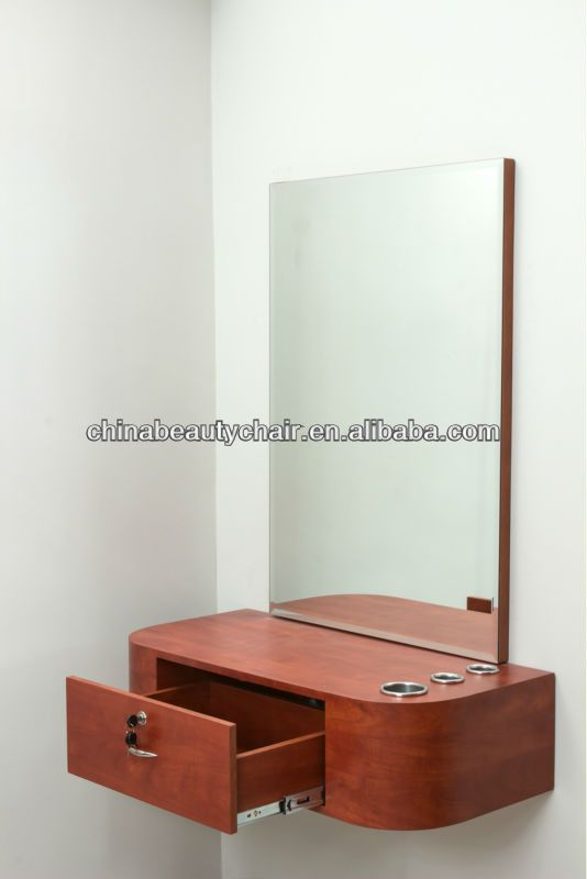 wall mounted hair salon station with mirror HGT-18135